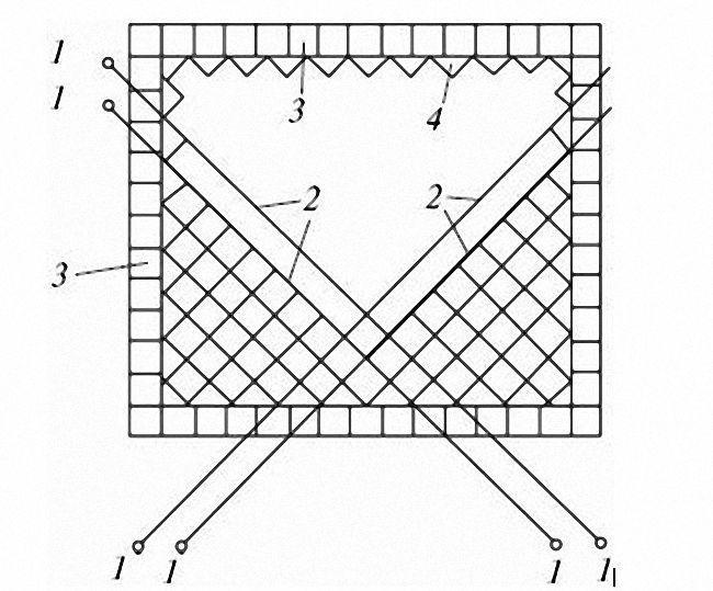 схема диагональная укладка плитка