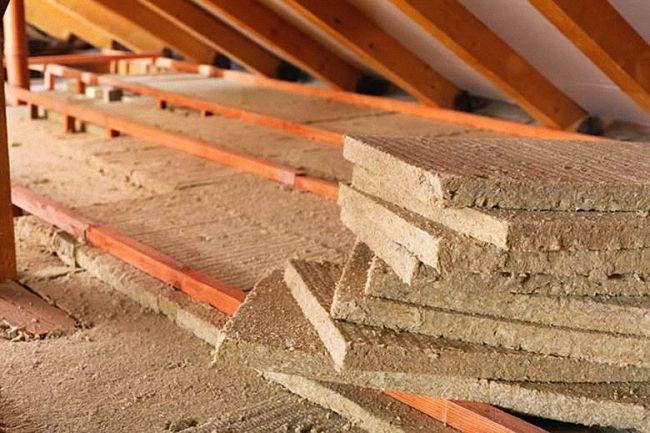 Утеплитель для крыши минеральная вата
