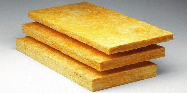 Желтая минеральная вата