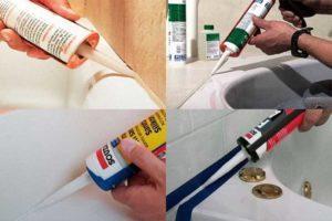 Герметик для акриловой ванны
