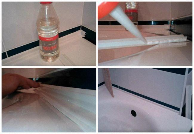 герметизирующий состав для акриловой ванны