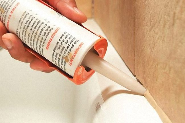 силикон для швов в ванной