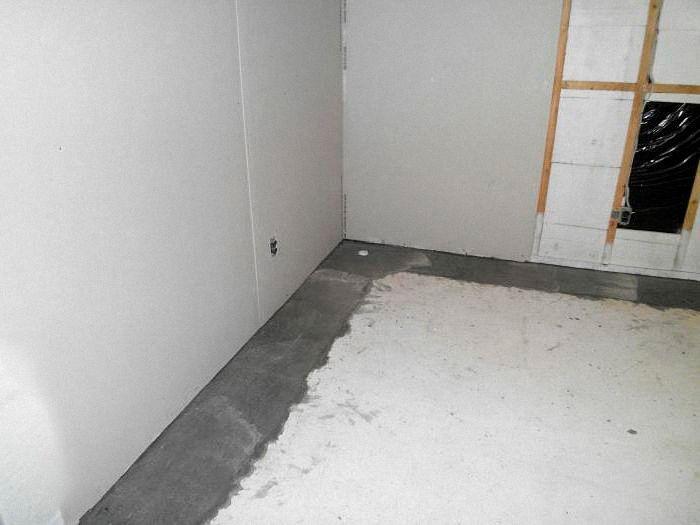 гидроизоляция стен внутри помещения