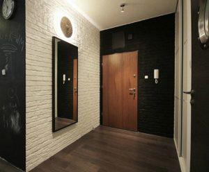 Отделка стен в коридоре