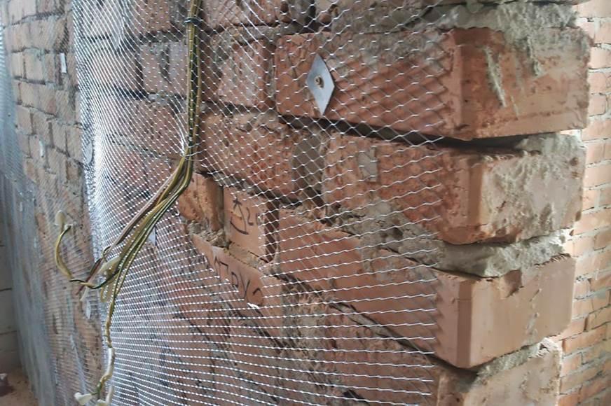 Использование армированной сетки для штукатурки стен
