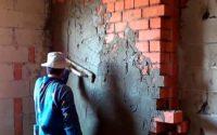Оштукатуривания кирпичной стены самостоятельно