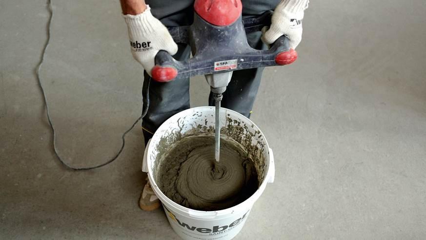 Самостоятельное приготовлении раствора для оштукатуривание стен