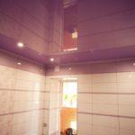 Как сделать натяжной потолок в ванне самостоятельно