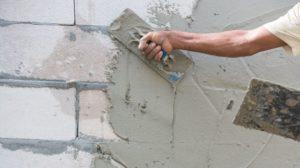 Оштукатуривание стен из газобетона своими руками