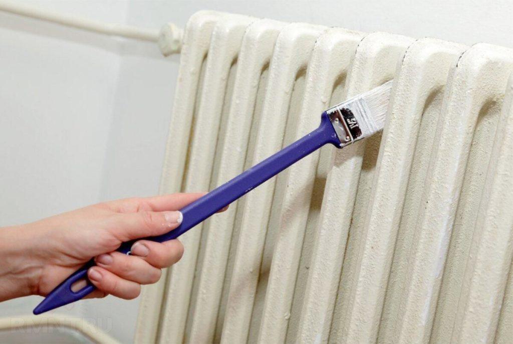 Покраска радиатора отопления своими руками